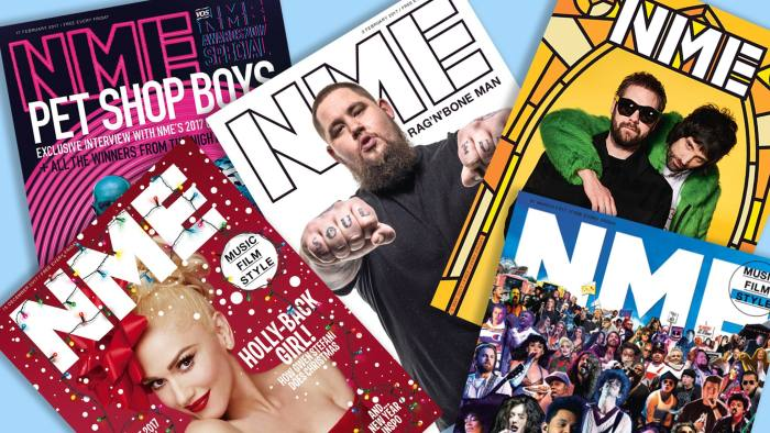 New Musical Express Generic NME magazines