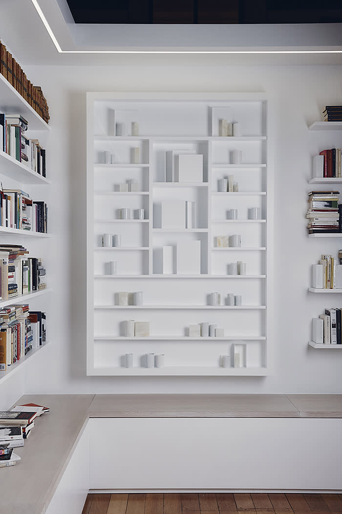 Edmund de Waal installation at the British Museum, 11th March 2020. Photo by Greg Funnell.