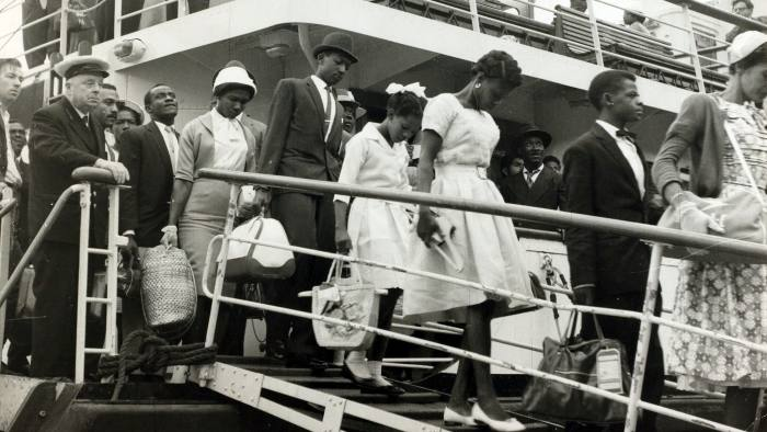People, Immigration, pic: 1st July 1962, Immigrants from the Caribbean arrive at Southampton (Photo by Bentley Archive/Popperfoto/Getty Images)