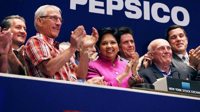 Indra Nooyi, PepsiCo chief executive: a number of high-profile female US chief executives have been promoted from the CFO role