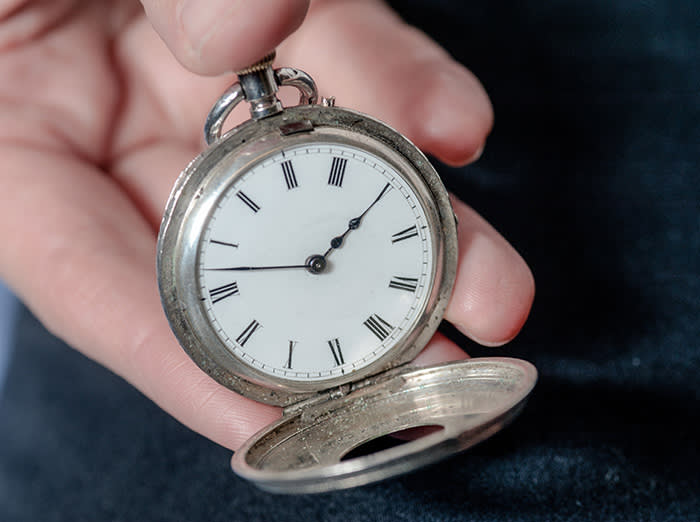 93ec94c1237 Children s author loves a pocket watch that tells a story ...
