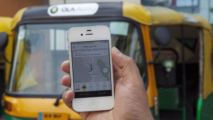 Indian Ride Hailing App Ola Maps Out Route Into Uk