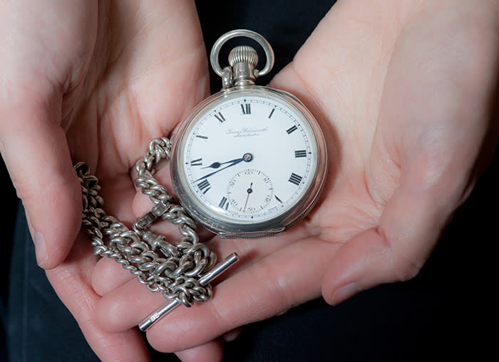 f548065ea1b Open-face James Wadsworth © Si Barber for the FT. Ms Dolan finds a pocket  watch more ...