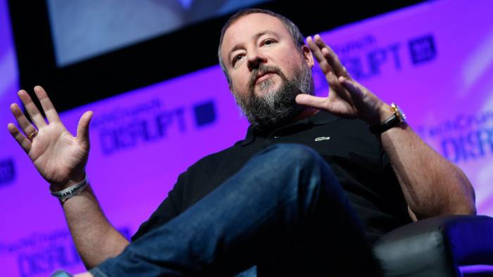 NEW YORK, NY - MAY 05: Co-founder and CEO of VICE. Shane Smith speaks at TechCrunch Disrupt NY 2014 - Day 1 on May 5, 2014 in New York City. (Photo by Brian Ach/Getty Images for TechCrunch)