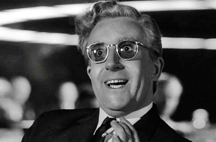 WDHCAT DR. STRANGELOVE 1964 Columbia Pictures film with Peter Sellers