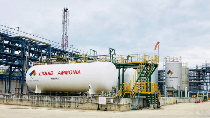 FinancialTimes: Japan bets on ammonia as the fuel of the future.