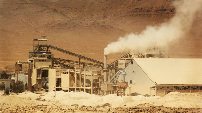 UNSPECIFIED - MAY 23: Syria. Phosphate ore mine near Damascus (Photo by DEA / C. SAPPA/De Agostini via Getty Images)