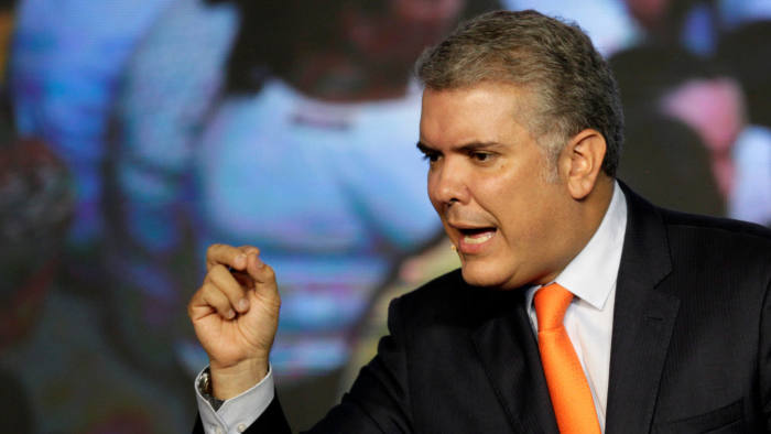 Colombia's Duque copes with the world's worst neighbour | Financial Times