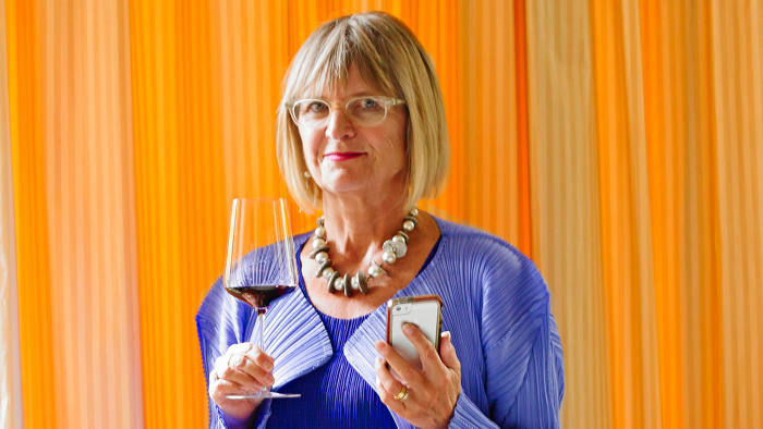 Wine critic Jancis Robinson