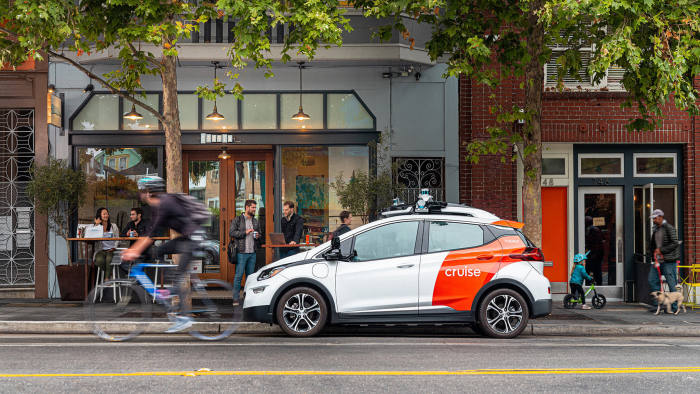 Streetwise: GM's Cruise 'robotaxis' on the road in San Francisco