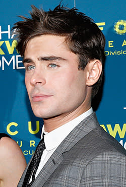 Actor Zac Efron at the premiere of 'That Awkward Moment' in New York earlier this week
