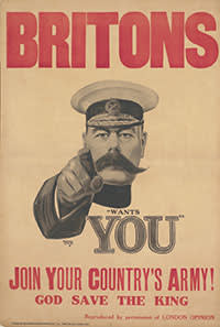 The famous Kitchener recruiting poster