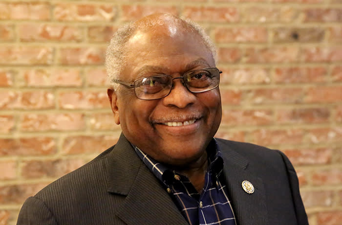 Big Read - 2020 - African American vote - Taken in February 2020 Congressman Jim Clyburn South Carolina lawmaker and Democratic whip in House of Representatives, was shot at the Charleston Marriott