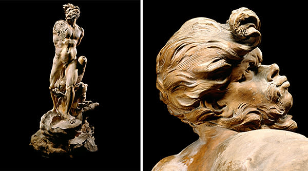 The 'Modello for the Moor' is one of the few large works by Bernini to survive