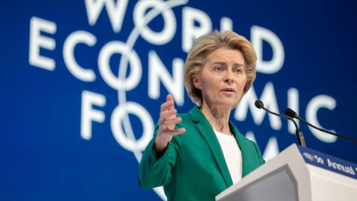 Davos 2020: Ursula von der Leyen warns China to price carbon or face tax