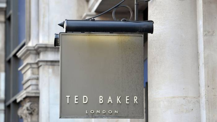 9f0451399 Opening Quote  Ted Baker beats high street with wholesale gains ...