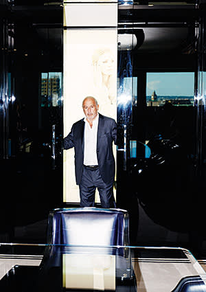 Philip Green at his offices in London