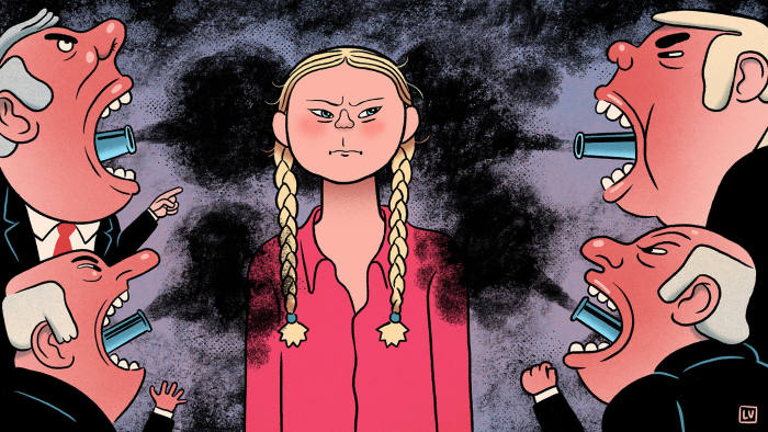 Why middle-aged men hate Greta Thunberg