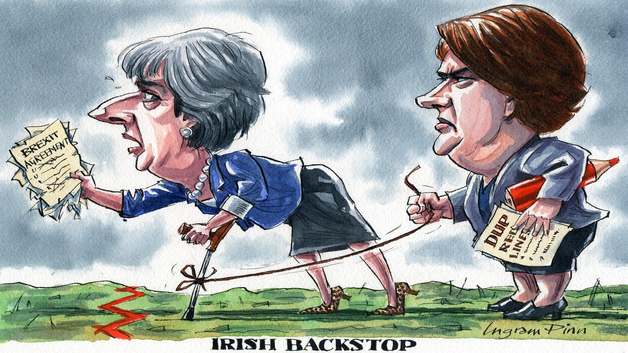 Irish backstop | Financial Times