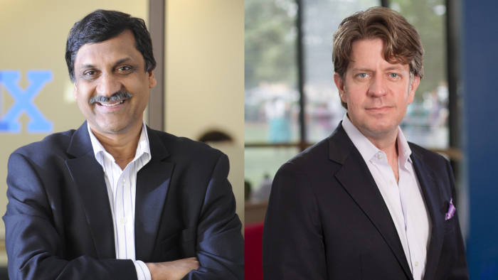 Anant Agarwal and Chip Paucek