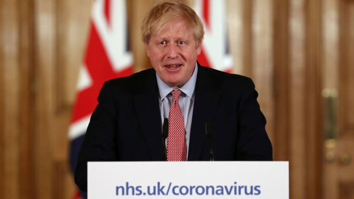 At a news conference at 10 Downing Street, UK prime minister Boris Johnson said: 'This is the worst public health crisis for a generation'