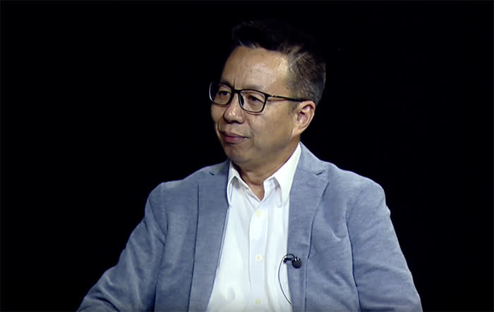 Richard Li, chief scientist at Futurewei, Huawei's R&D arm. Li has been working with the explicit backing of the Chinese government to develop the technology that would allow 'cyber sovereignty'
