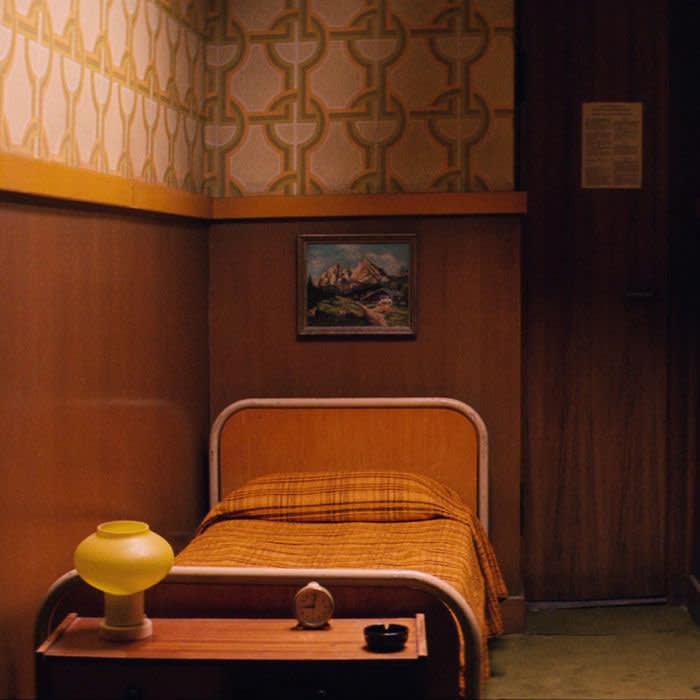 Hotel Budapest film still Zero's room