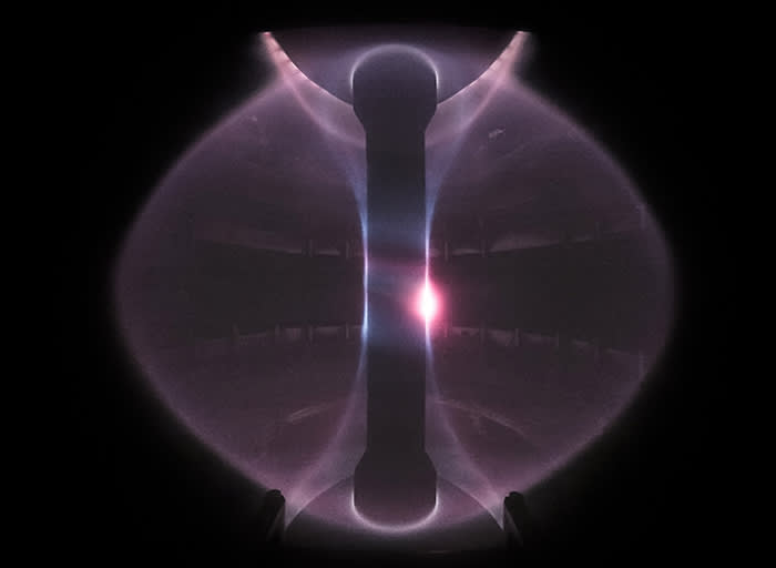 Fusion test in MAST experiment