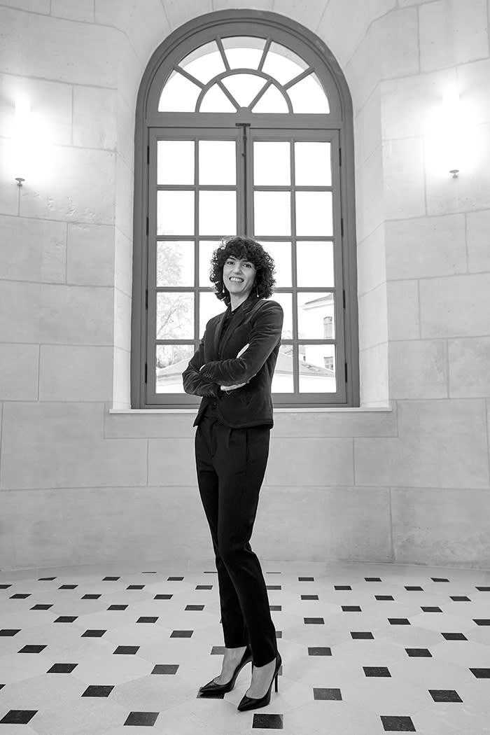 45444a8315b Francesca Bellettini — a star at Saint Laurent