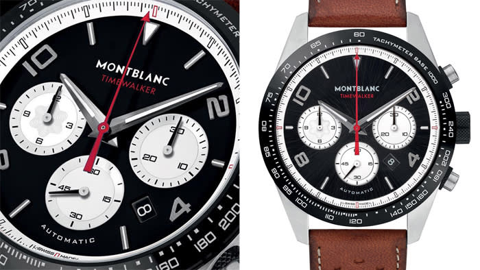 db1df6aca56 ... Goodwood Festival of Speed motorsport event reinforces its automotive  credentials with two vintage-look driver s chronographs. The watches  feature black ...