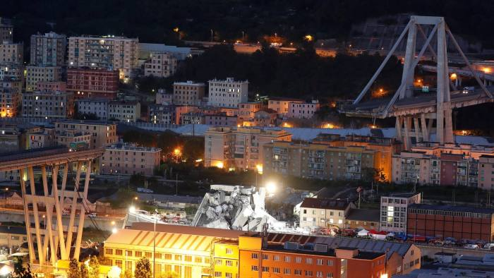 At Least 35 Killed As Motorway Bridge Collapses In Italy Financial
