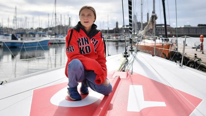 Greta Thunberg's influence grows as young activist heads for US