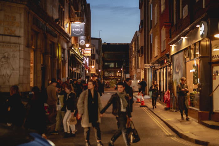 Soho is a little less cool than it was; a bit more middle-aged but still spirited