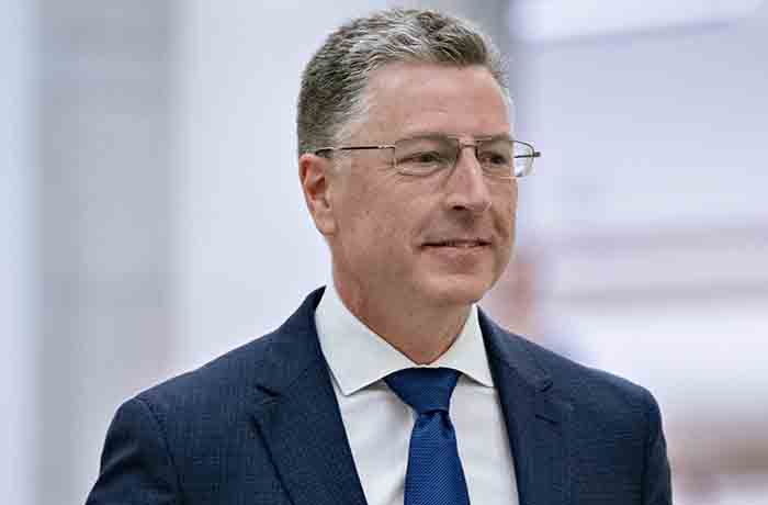 Kurt Volker, former special envoy to the Ukraine, arrives for a closed-door deposition before House committees on Capitol Hill in Washington, D.C., U.S., on Thursday, Oct. 3, 2019. Volker, who stepped down last week from his unpaid role representing American interests in Ukraine, will give a deposition to the three House committees looking into President Donald Trump's pressure on a foreign power to investigate a political rival, Joe Biden. Photographer: Andrew Harrer/Bloomberg