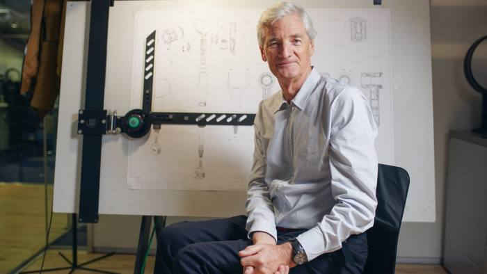 FT | Sir James Dyson photographed at the Dyson headquaters in Malmsbury Wiltshire 25th Jannuary 2018 Photography by Gareth Iwan Jones (www.garethiwanjones.com)