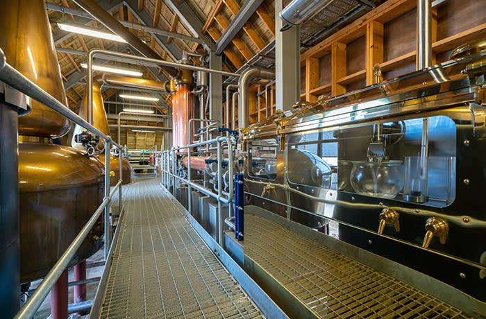 Nc'nean distillery in Drimnin, north-west Scotland