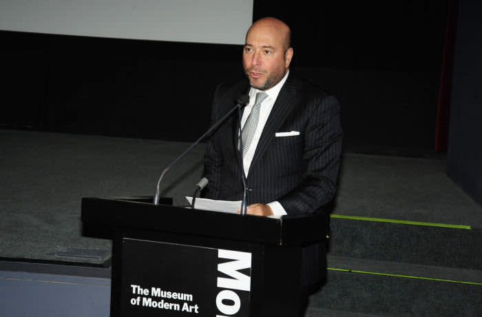 NEW YORK, NY - APRIL 25: James Rosenwald speaks at the MoMA screening of Jackson Pollock film by Alison Chernick on April 25, 2019 in New York City. (Photo by Paul Bruinooge/Patrick McMullan via Getty Images)