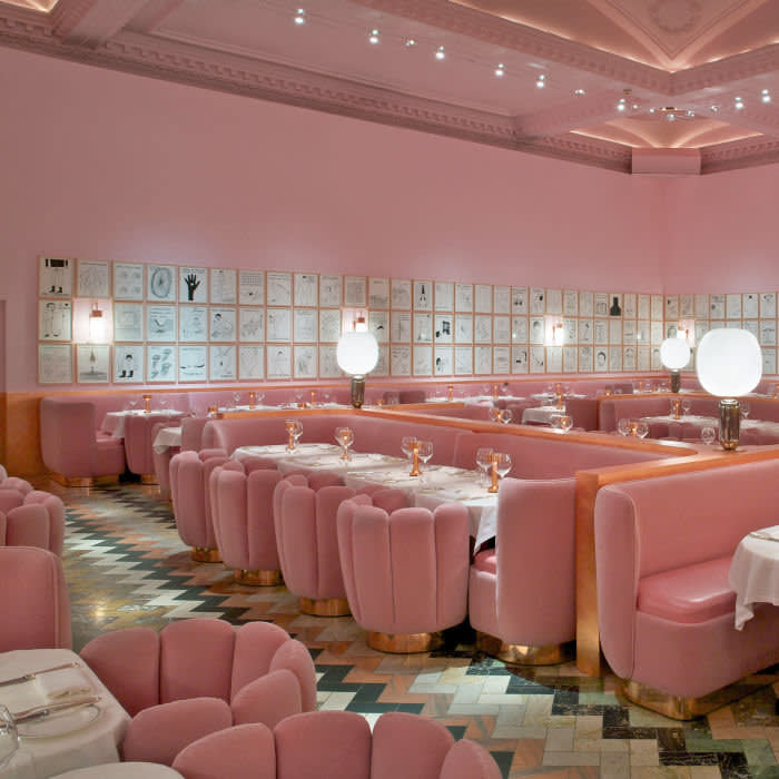 The Gallery at Sketch credit Rob Whitrow . designed by India Mahdavi