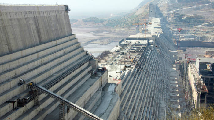 FILED - 25 November 2017, Ethiopia, Guba: The construction site of the Grand Ethiopian Renaissance Dam in the northwest of Ethiopia. Sudan confirmed that the meetings of the technical committees of the Ethiopian Renaissance Dam held recently in Addis Ababa were positive. Photo: Gioia Forster/dpa