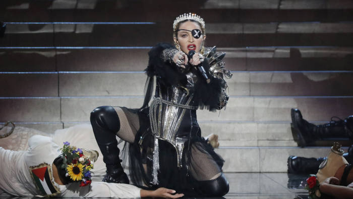 Madonna strikes a defiant note with 'Madame X'