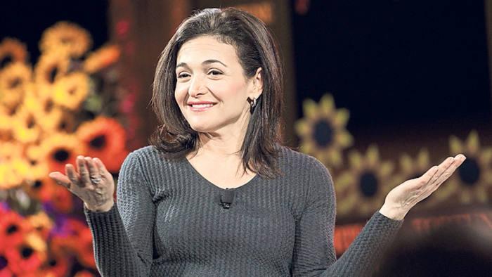 Sheryl Sandberg, chief operating officer of Facebook Inc. Photographer: Patrick T. Fallon/Bloomberg