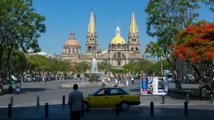 Metropolitan Catherdral, The Plaza de la Liberacion, Guadalajara, Mexico
