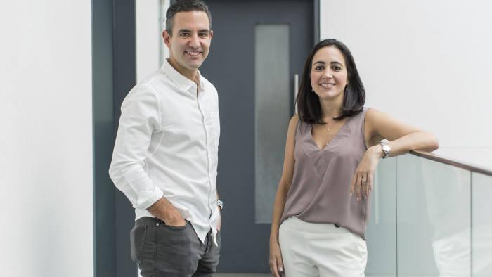 David Vélez and Cristina Junqueira
