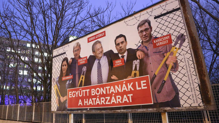 Soros's Open Society Foundation considers shutting in Hungary