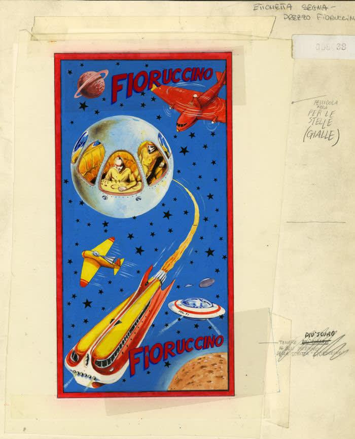 Artwork for a Fiorucci bag