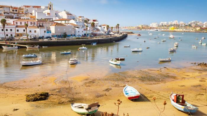 F7HJNH Ferragudo, Algarve, Portugal