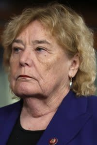WASHINGTON, DC - JANUARY 15: Rep. Zoe Lofgren (D-CA)has been appointed one of seven managers of the Senate impeachment trial of President Donald Trump at the U.S. Capitol January 15, 2020 in Washington, DC. The House of Representatives is scheduled to vote to send the articles of impeachment to the Senate later in the day and Senate Majority Leader Mitch McConnell (R-KY) said the trial will begin next Tuesday. (Photo by Chip Somodevilla/Getty Images)