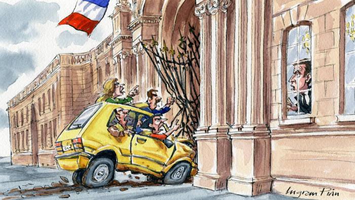 Emmanuel Macron receives a lesson in populist politics