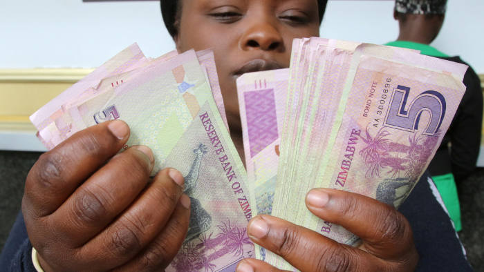 Zimbabwe strikes milestone IMF deal to boost new currency