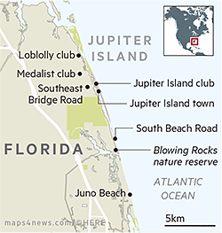 Jupiter Island residents enjoy their own private orbit | Financial Times